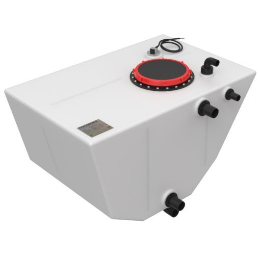 Replacement Forward Waste Tank for Island Packet 350